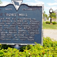 fort-mill-history-sign