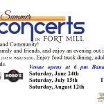 Fort Mill Summer Concert Banner