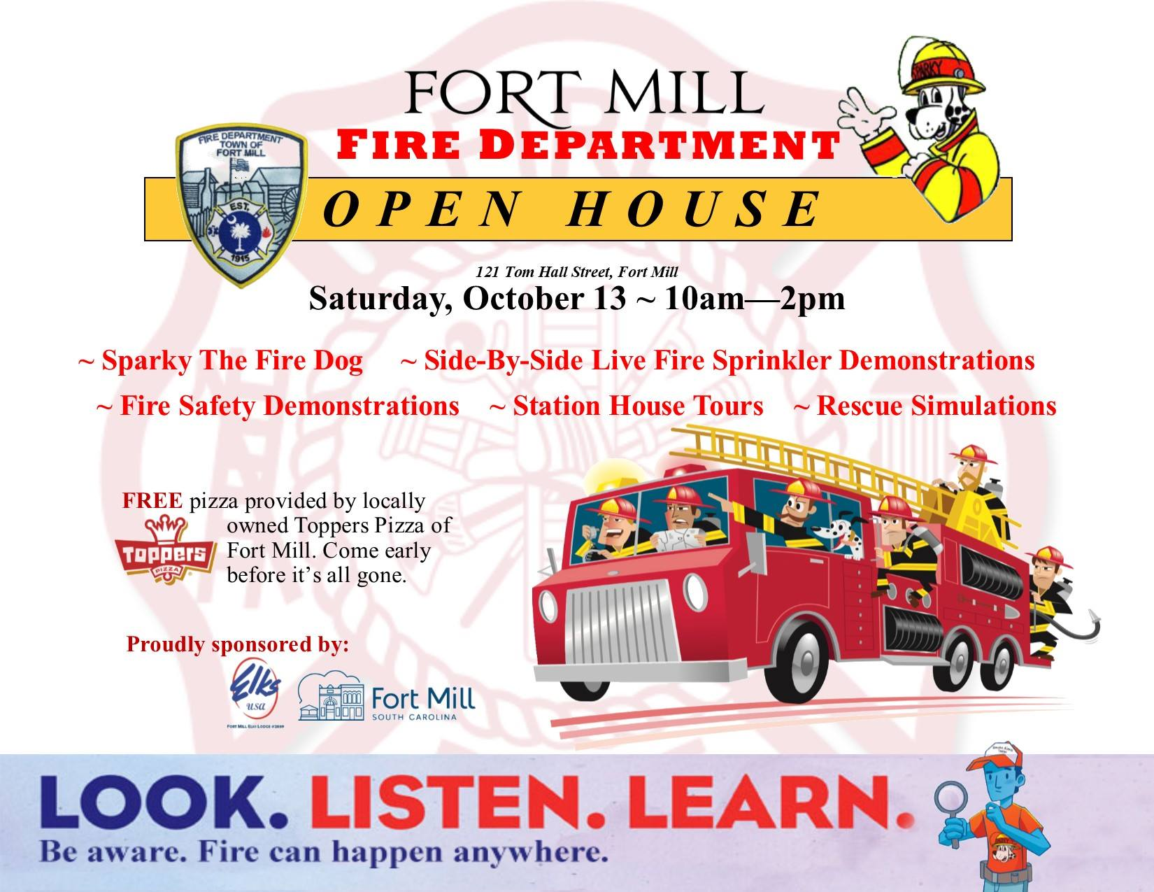Fort Mill Fire Department Open House