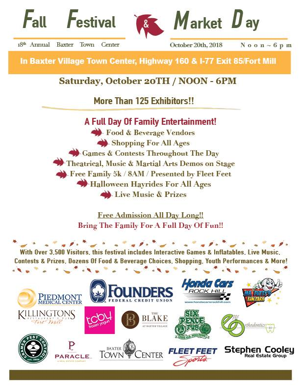 Baxter Village Fall Festival 2018